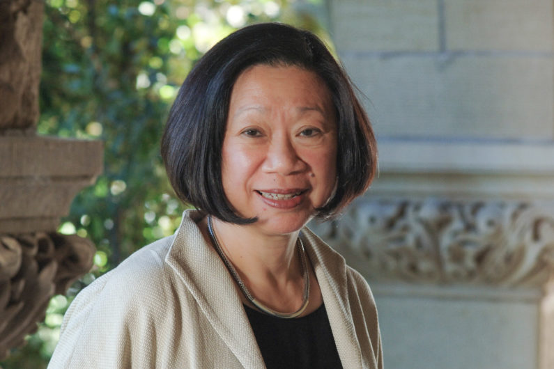portrait of political science professor Jean Oi