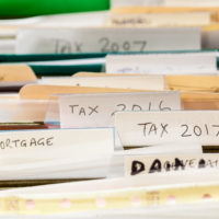 Untidy tax files