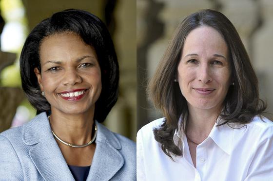 Condoleezza Rice and Amy Zegart