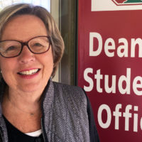 Christine Griffith at the Dean of Students Office