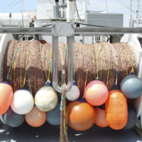 Gillnet fishing boat equipment