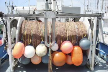 Gillnet fishing boat equipment