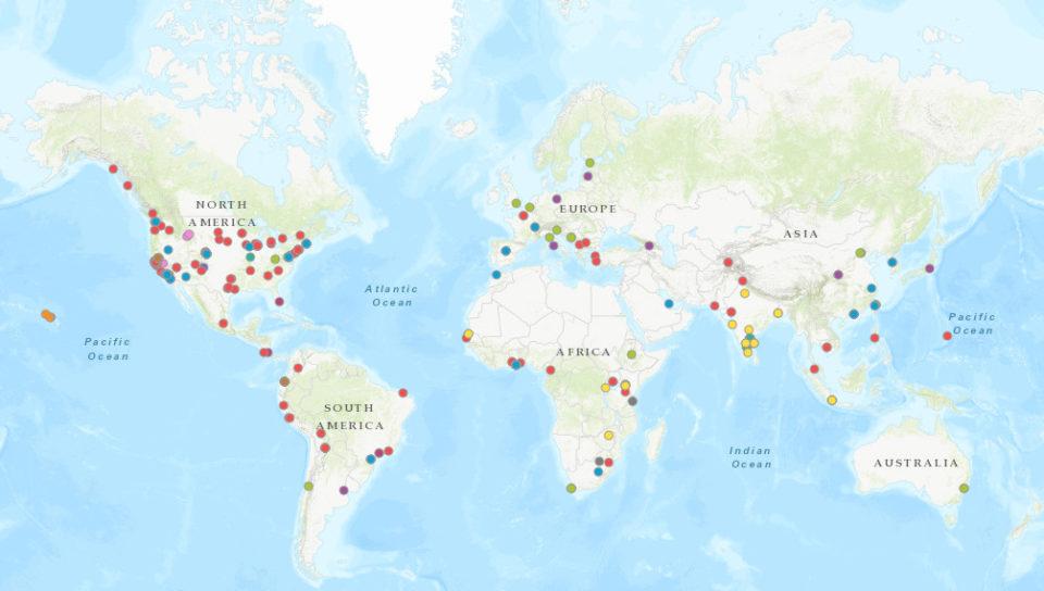 Public Service map