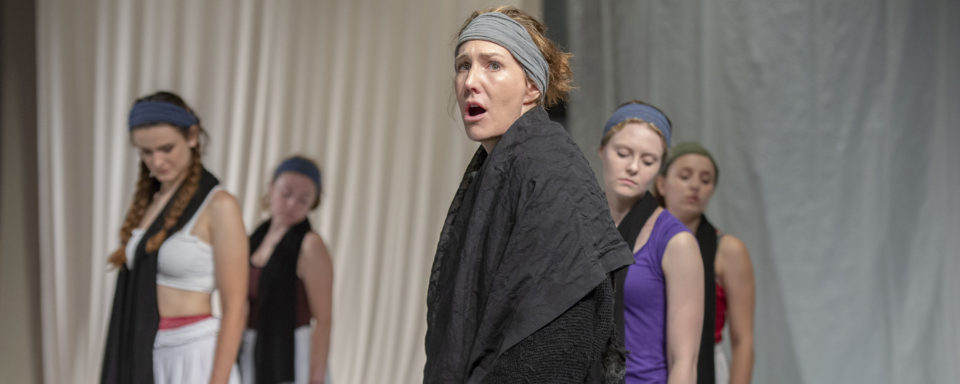 Courtney Walsh as Hecuba