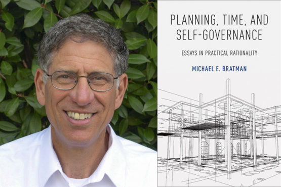 Michael Bratman and book cover