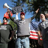 White supremacists in Austin, TX