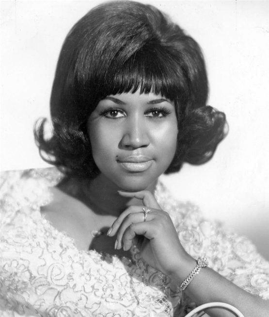 Aretha Franklin publicity photo from 1968.
