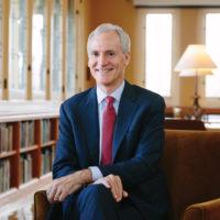 portrait of Stanford University President Marc Tessier-Lavigne