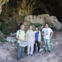 Researchers at Raqefet Cave