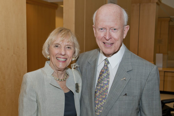 Burt McMurtry and his wife, Deedee
