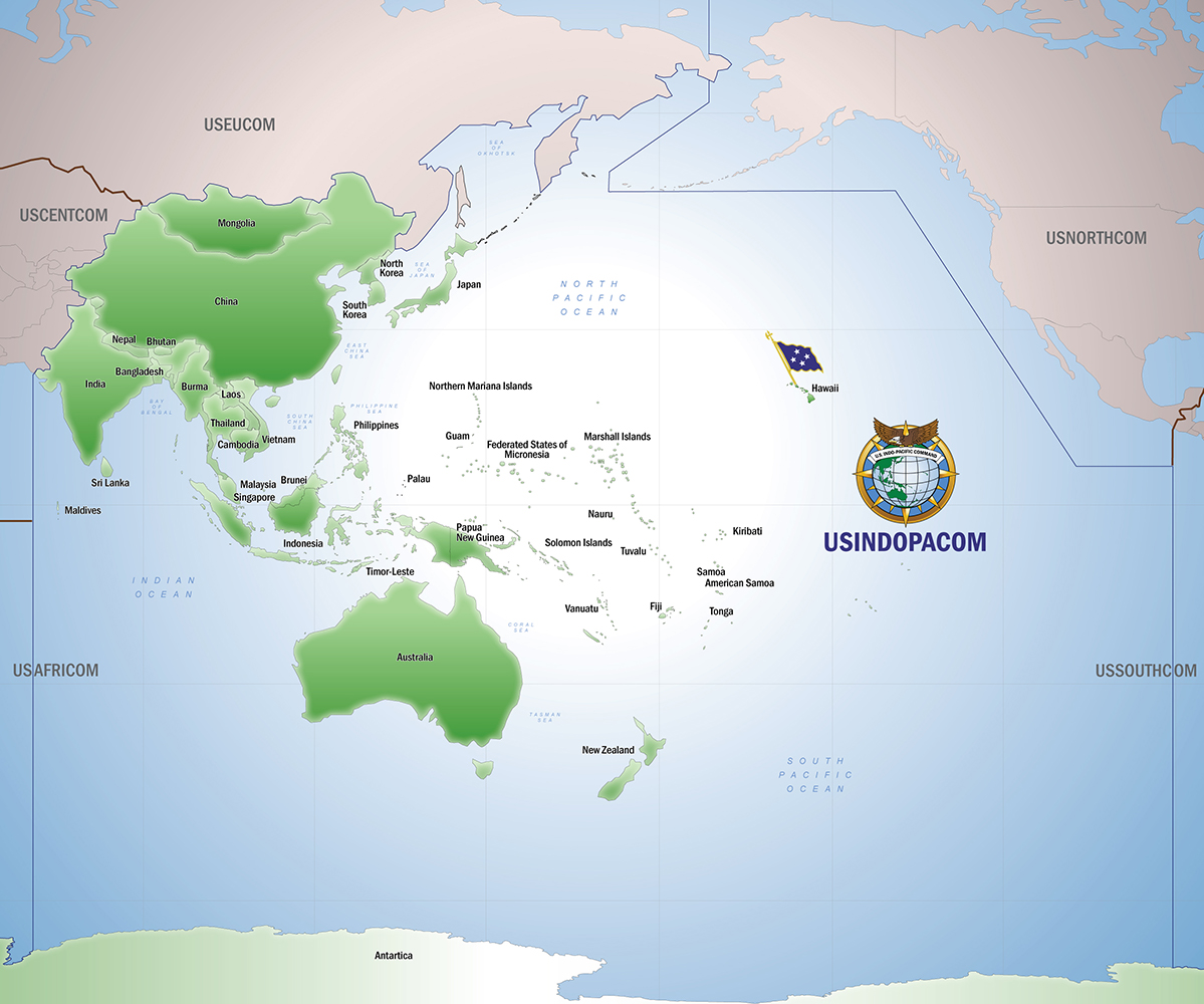 INDOPACOM map