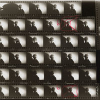 detail of Andy Warhol contact sheet