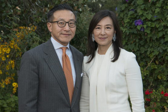 Clara Wu Tsai and Joe Tsai