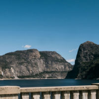 The Hetch Hetchy Reservoir provides water to millions of people in the San Francisco Bay Area.