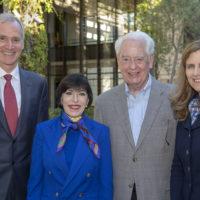 Marc Tessier-Lavigne, Carolyn Franke, William A. Franke, and Elizabeth Magill