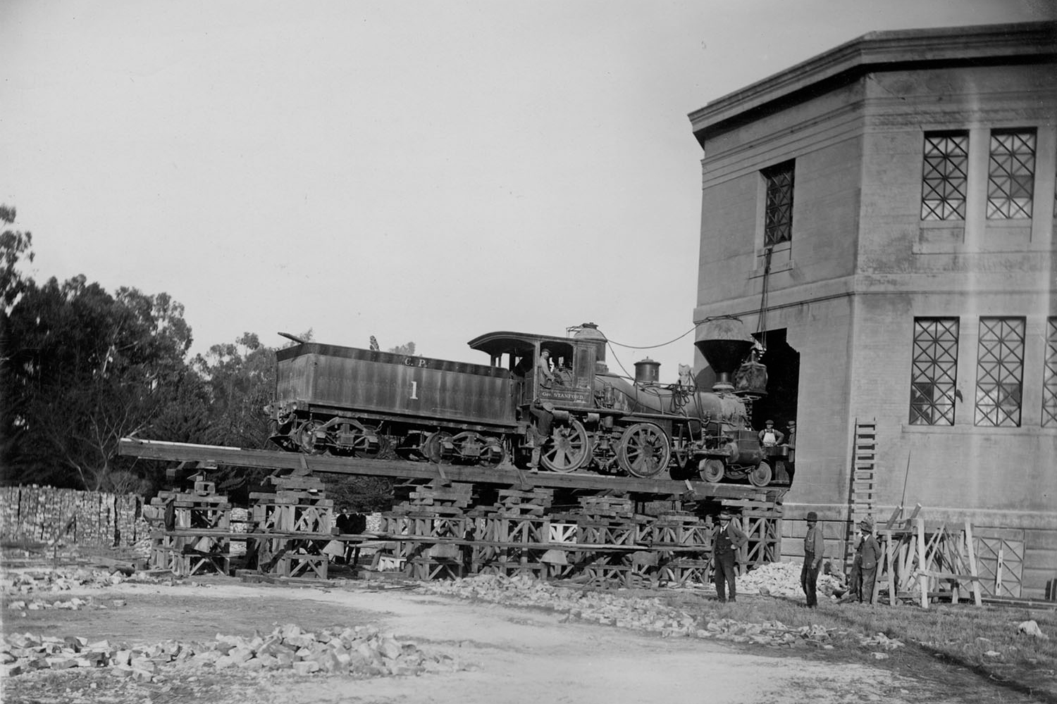 Gov. Stanford locomotive