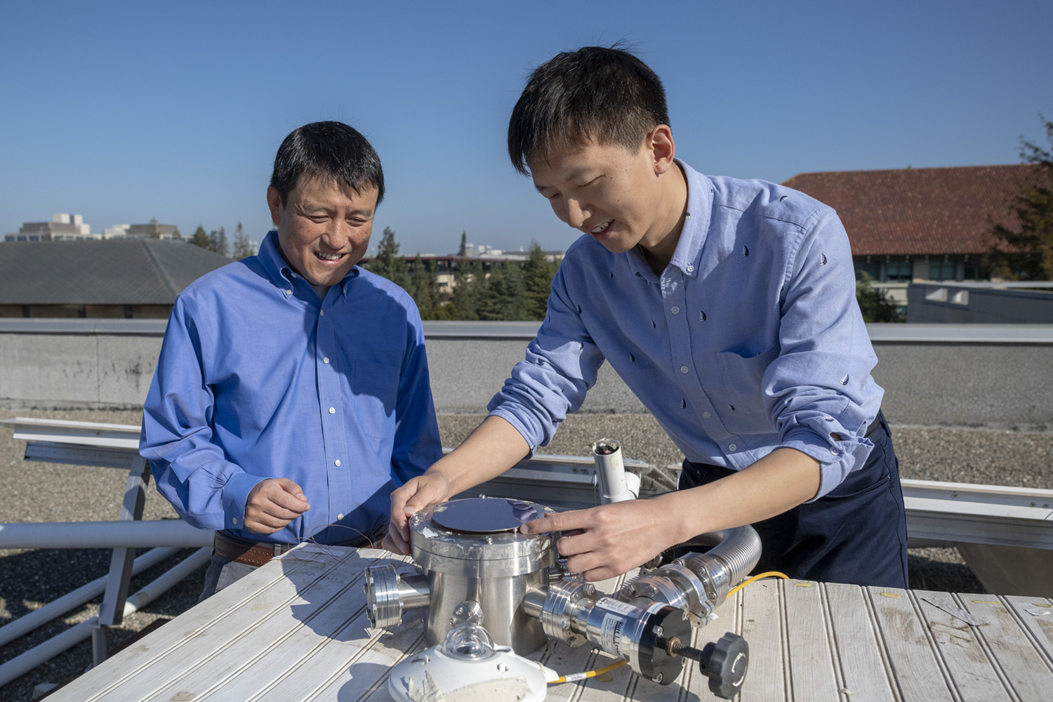 stanford.edu - New device can collect solar energy and cool buildings | Stanford News