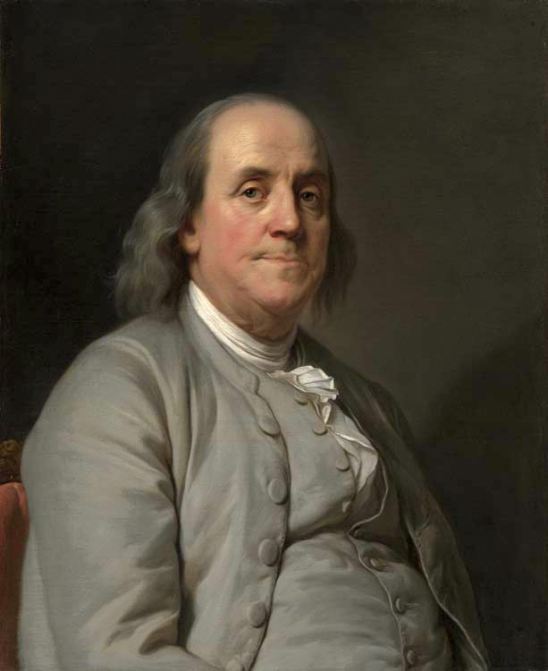 painting of Benjamin Franklin