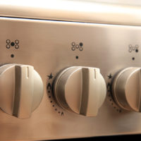 heat controls on gas oven