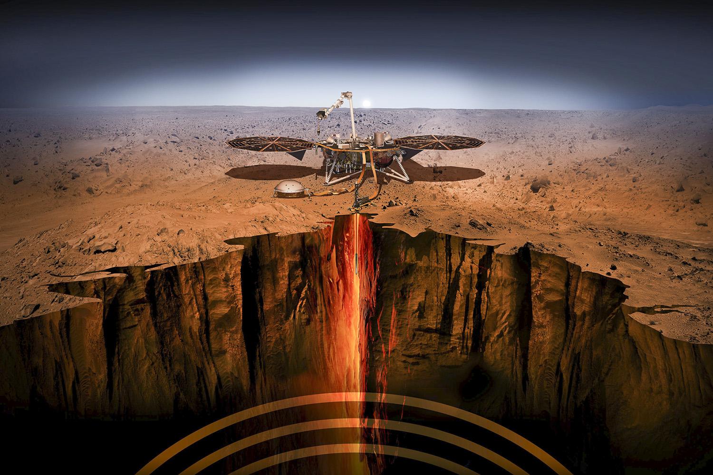 First Mars program director Scott Hubbard on InSight | Stanford News