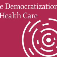 cover art from 2018 Stanford Medicine Health Trends Report: The Democratization of Health Care