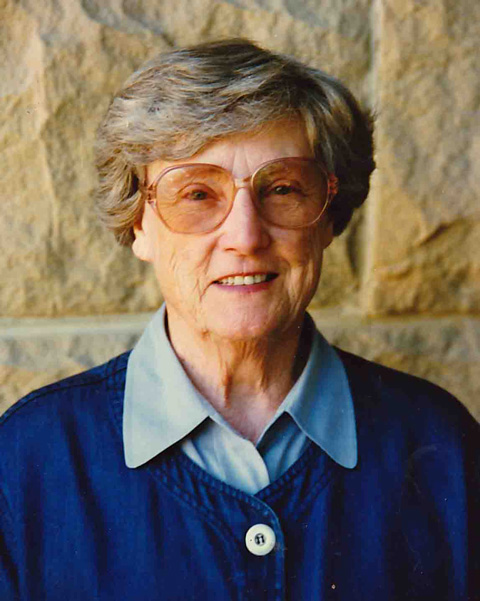 Eleanor Maccoby portrait, c. 1997