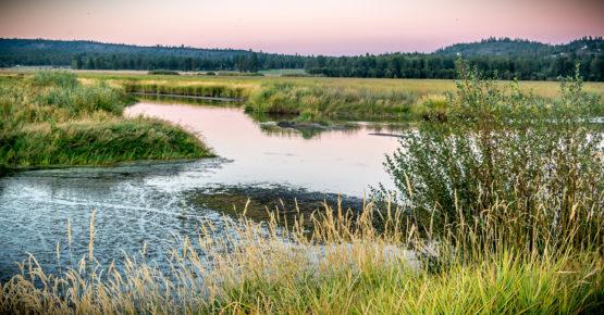 Wood River Wetland near Klamath Falls, Oregon