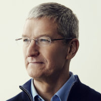 Tim Cook, Apple CEO; horizontal portrait