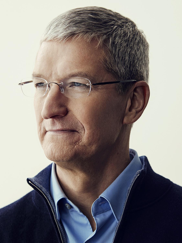 Tim Cook, Apple CEO; vertical portrait