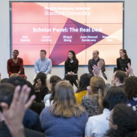 Current scholars speak at Knight Hennessy Immersion Weekend