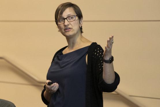Risa Wechsler talking