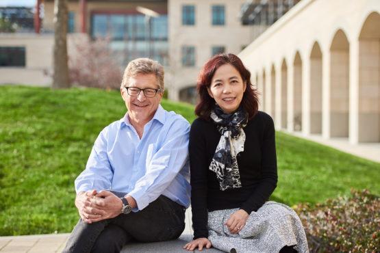 HAI directors John Etchemendy and Fei-Fei Li