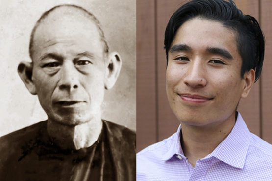 Side-by-side photos of Hong and Solorio.