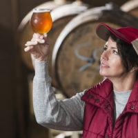 Female brewer