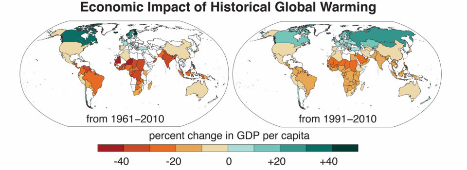 Climate change has worsened global economic inequality | Stanford News