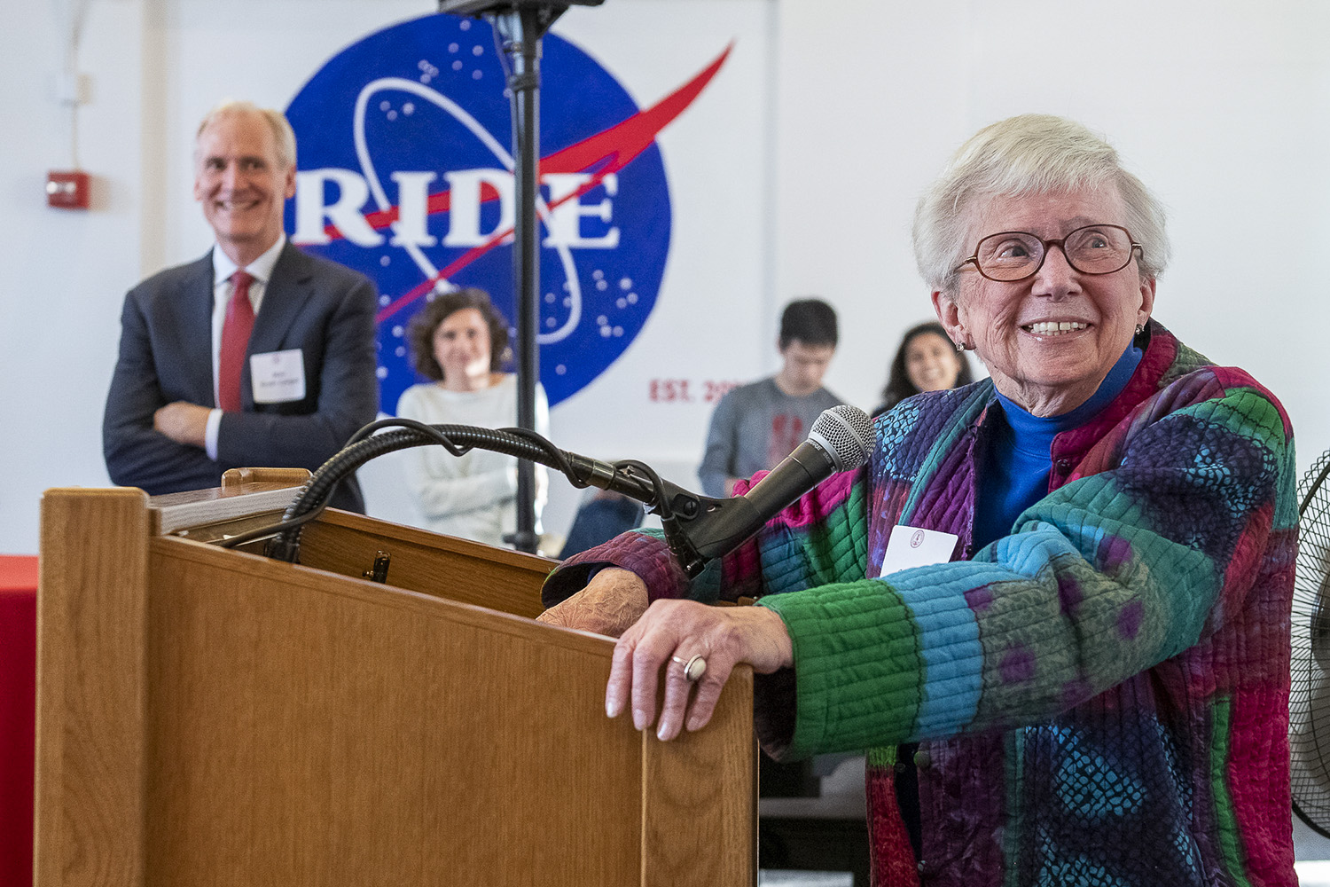 Alumna Sally Ride remembered with residence hall renaming