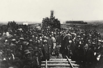 Completing the First Transcontinental Railroad