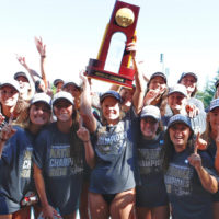 Stanford women's water polo team championship