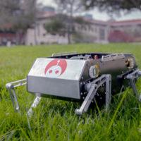 Stanford Doggo, the quadruped robot