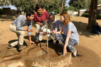 Jenna Davis in Zambia