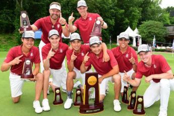 Cardinal Golf NCAA Champs