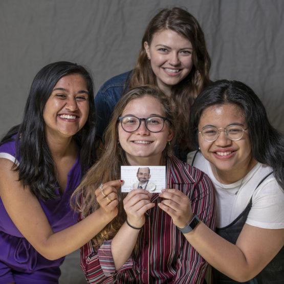 Taylor Merkel, Celine Gandingco, Miranda Vogt, and Ashi Agrawal