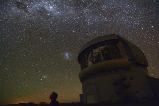 The Gemini Planet Imager is located at Gemini South Observatory in Cerro Pachón, Chile.
