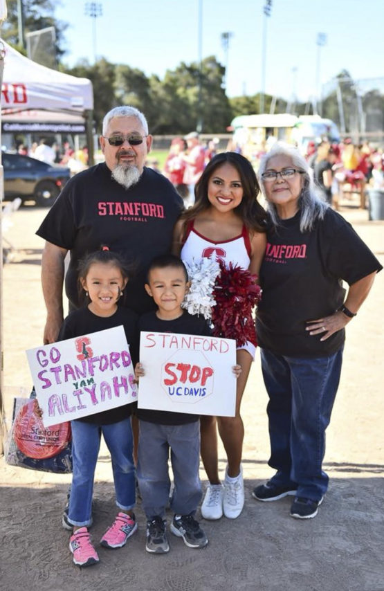 Aliyah Chavez and family