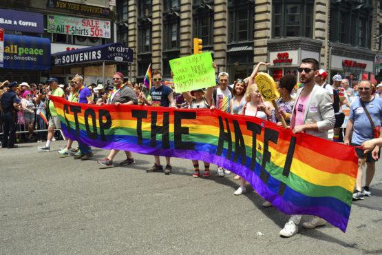 2017 Gay Pride Parade in New York City