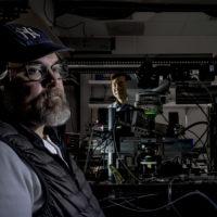 Tony Ricci in a lab