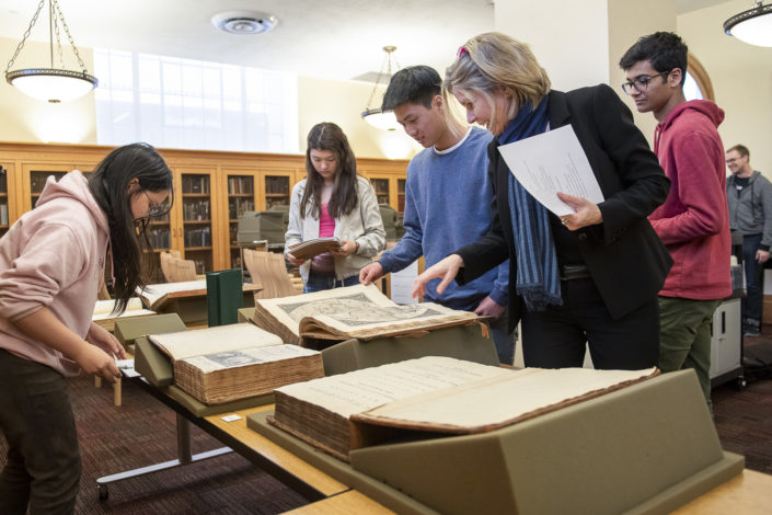 Humanities Research Intensive, taught during spring break at Stanford Libraries Special Collections with Caroline Winterer and Elaine Treharne. Humanities Boot Camp.