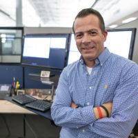 Noel Vest in his office