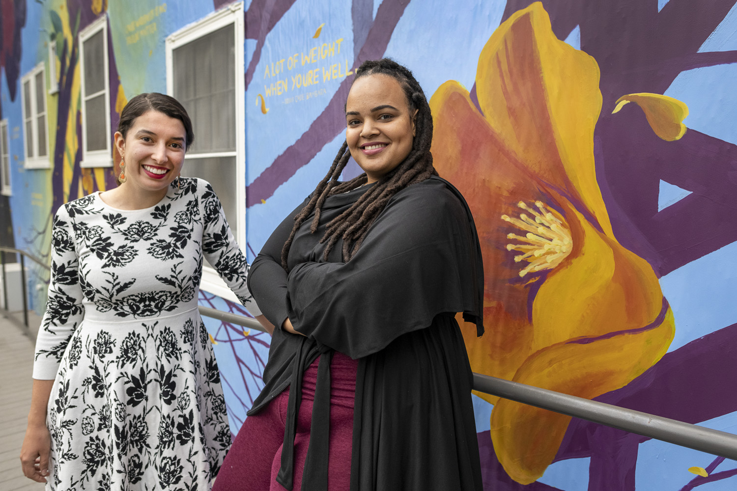 New Stanford mural connects campus to local nature, diversity | Stanford News