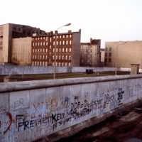 Berlin Wall in 1983
